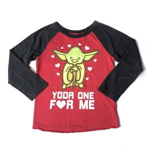 Star Wars Yoda One For Me Valentines Shirt